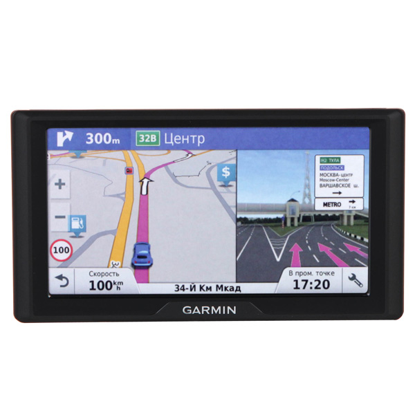 Портативный GPS-навигатор Garmin Drive 61 Russia LMT (010-01679-46) garmin drivesmart 50 rus lmt