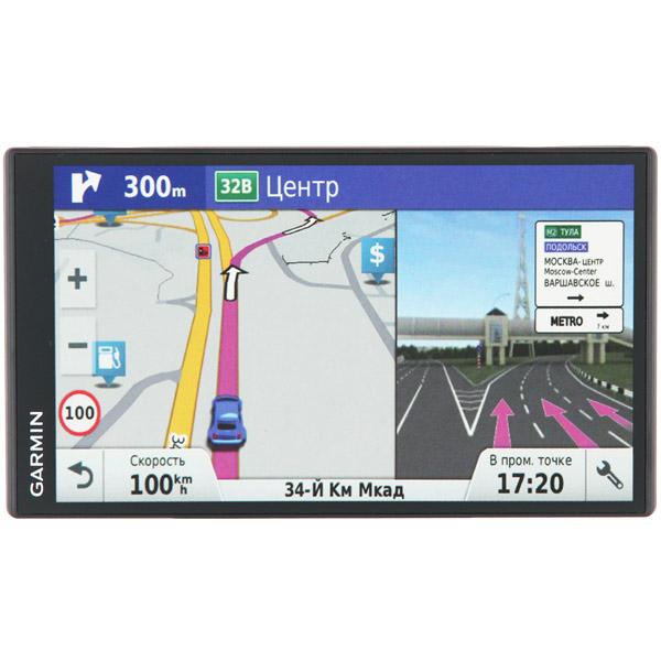 Портативный GPS-навигатор Garmin DriveSmart 61 Russia LMT GPS (010-01681-46) garmin drivesmart 50 rus lmt
