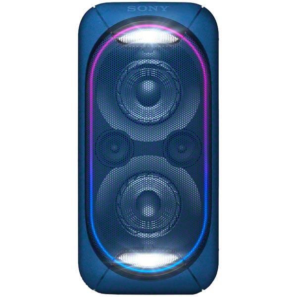 Музыкальный центр Mini Sony GTK-XB60/LC портативная акустика sony gtk xb60 синий gtkxb60l ru1