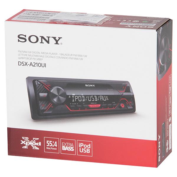 USB-Автомагнитола Sony DSX-A210UI/Q - фото 9
