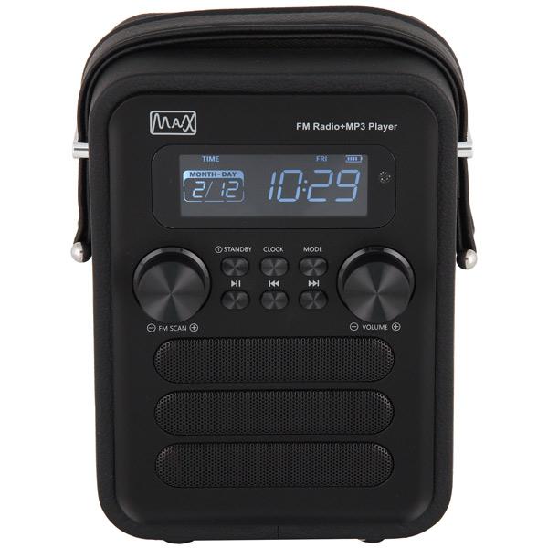Радиоприемник MAX MR-340 max мультимидийная аудио система mr 280 черная