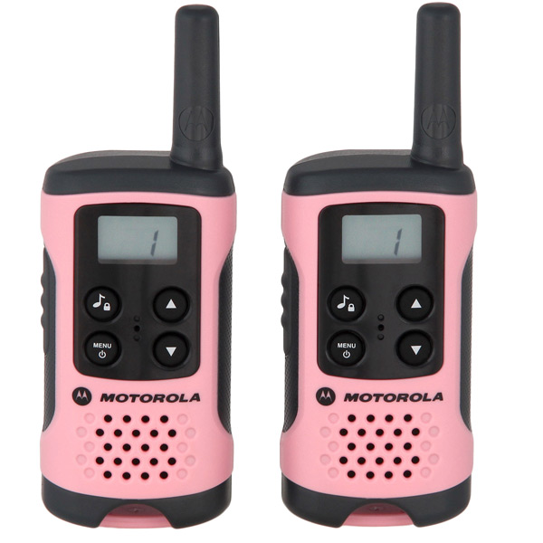 Радиостанция Motorola TLKR T41 Pink (2 штуки) motorola pulse 2 wired black