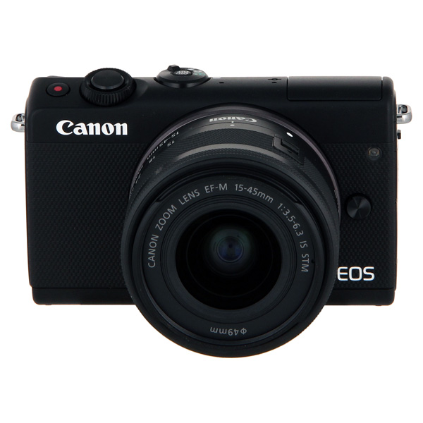 Фотоаппарат системный Canon EOS M100 EF-M15-45 IS STM Kit Black фотоаппарат зеркальный canon eos 200d ef s 18 55 is stm kit black