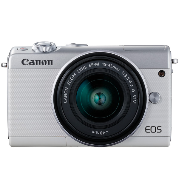 Фотоаппарат системный Canon EOS M100 EF-M15-45 IS STM Kit White цифровая фотокамера canon eos m10 15 45is stm white 0922c012