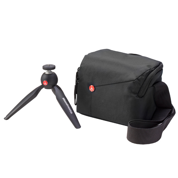 Премиальный фотоаксессуар Manfrotto Комплект: MTPIXI-B + MB NX-SB-IGY-2 manfrotto windsor messenger s mb lf wn ms