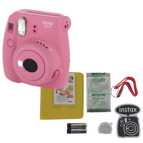 Фотоаппарат моментальной печати Fujifilm INSTAX MINI 9 FLA PINK SET