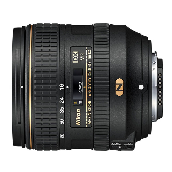 Объектив Nikon AF-S DX NIKKOR 16-80mm f/2.8-4E ED VR nikon af s nikkor 50mm f 1 4g