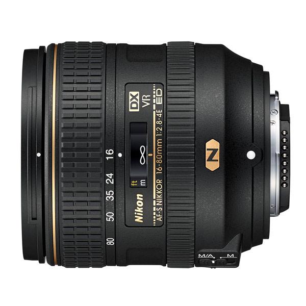 Объектив Nikon AF-S DX NIKKOR 16-80mm f/2.8-4E ED VR шина kumho marshal matrac mu19 225 40 r18 92y xl