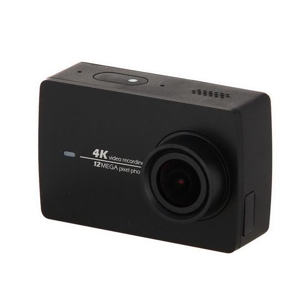 Видеокамера экшн Yi 4K черная
