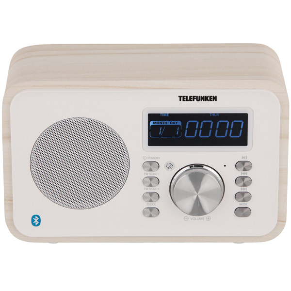 Радиоприемник Telefunken TF-1581UB White Wood