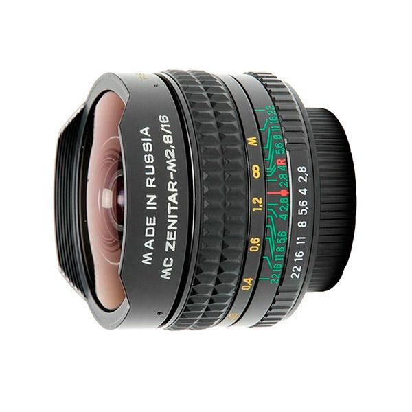 Объектив Зенит МС Зенитар-М 16mm f/2.8