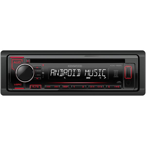 Автомобильная магнитола с CD MP3 Kenwood KDC-152R автомобильная магнитола с cd mp3 kenwood kdc 300uv