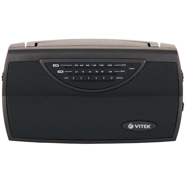 Радиоприемник VITEK VT-3591 GY радиоприемник дв св укв