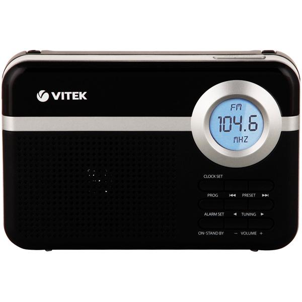 Радиоприемник VITEK VT-3592 BK радиоприемник дв св укв