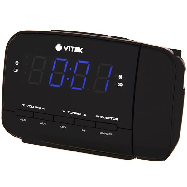 Радио-часы VITEK VT-6611 BK радио часы vitek радио часы vitek vt 3521 вк