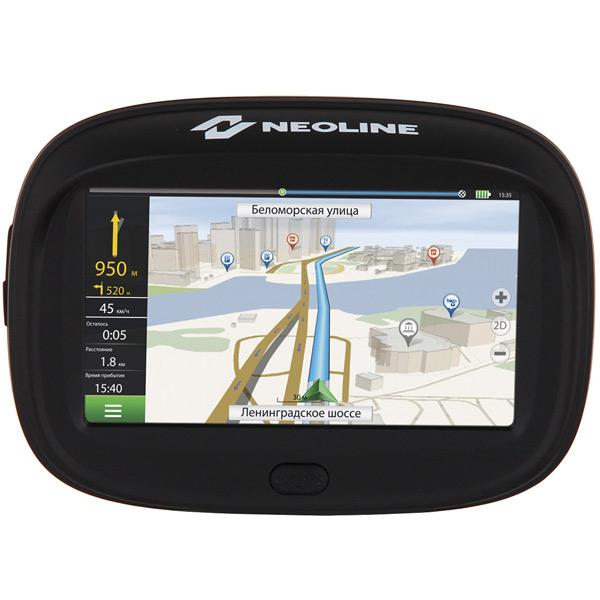 Портативный GPS-навигатор Neoline Moto 2 + ПО Навител
