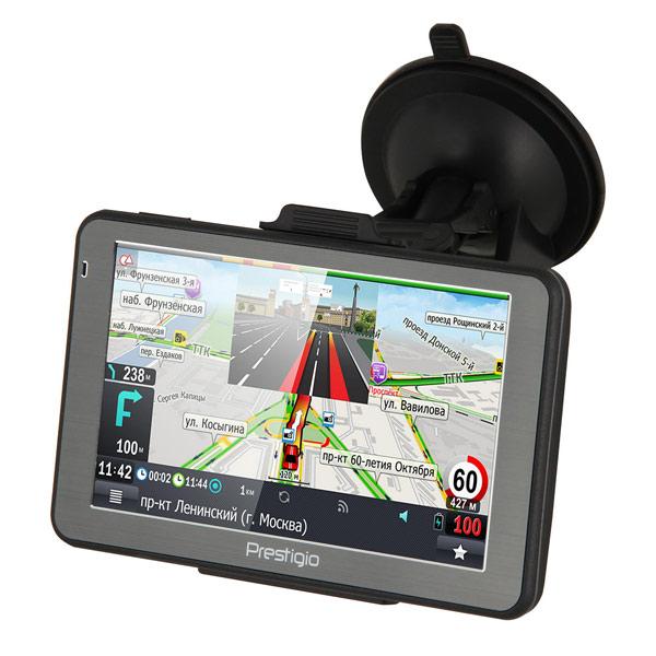 Портативный GPS-навигатор Prestigio GeoVision 5068 (PGPS5068CIS04GBPG) - фото 3