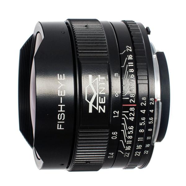 Объектив Зенит МС Зенитар-N 16 mm f/2.8 Nikon