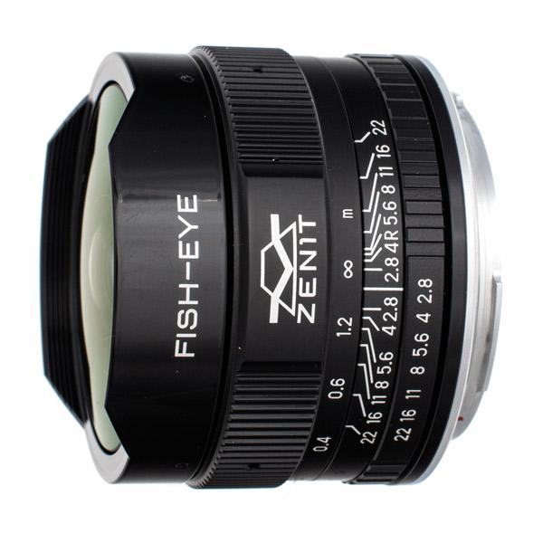 Объектив Зенит МС Зенитар-С 16 mm f/2.8 Canon