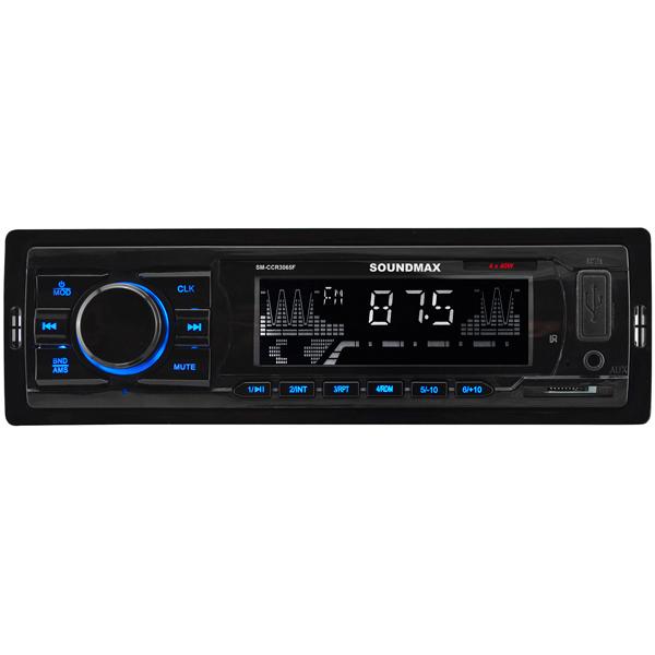 USB-Автомагнитола Soundmax SM-CCR3065F