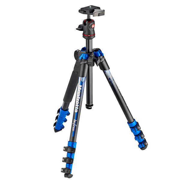 Штатив премиум Manfrotto MKBFRA4BL-BH Befree New синий