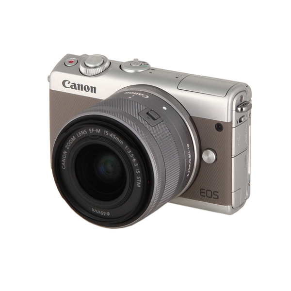Фотоаппарат системный Canon EOS M100 EF-M15-45 IS STM Kit Grey цифровая фотокамера canon eos m10 15 45is stm white 0922c012
