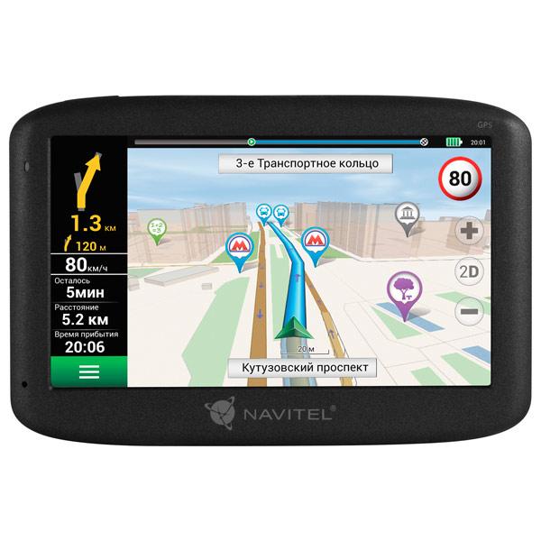 Портативный GPS-навигатор Navitel MS400 gps навигатор navitel n500 5 авто 4гб navitel серый