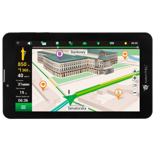 Портативный GPS-навигатор Navitel T700 3G фото