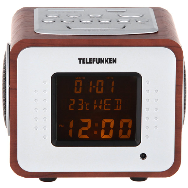 Радиоприемник Telefunken TF-1575U Dark Wood/Amber