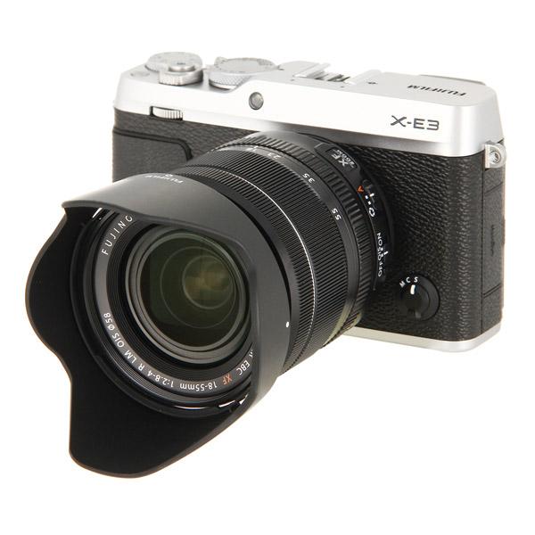 Фотоаппарат системный премиум Fujifilm X-Е3 Kit 18-55mm Silver фотоаппарат системный премиум fujifilm x е3 kit 18 55mm black