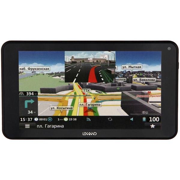 GPS-навигатор Lexand SB7 HD Прогород (Россия+60 стран) навигатор gps lexand sa5 hd 5 sa5 hd