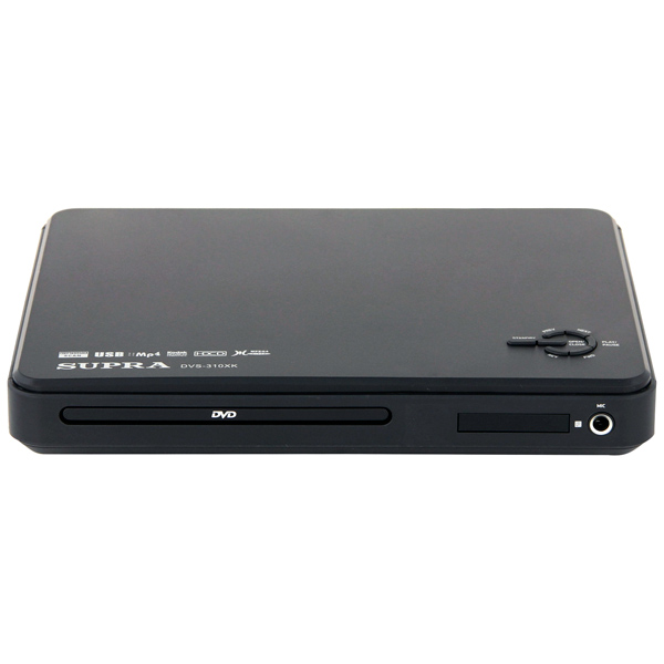 DVD-плеер Supra DVS-310XK dvd mpeg4 supra dvs 310xk black