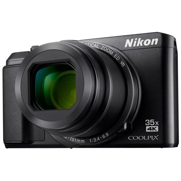 Фотоаппарат компактный Nikon Coolpix A900 черный фотоаппарат nikon coolpix a10 purple purple lineart 16mp 5x zoom sd usb 2 7