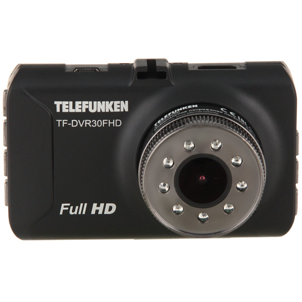 Видеорегистратор Telefunken TF-DVR30FHD Black maxell tf карта памяти