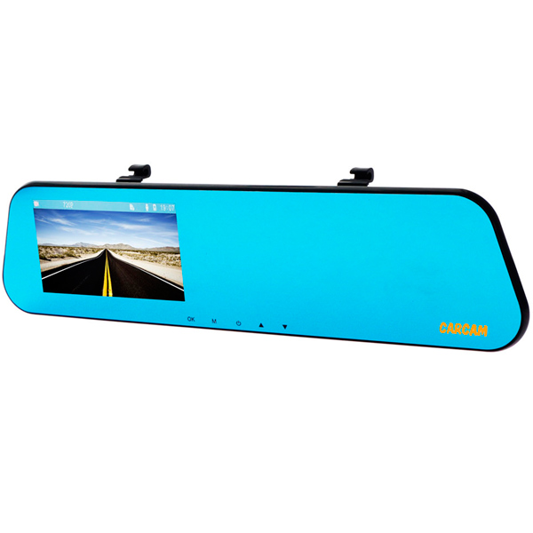 Видеорегистратор Каркам Z7 зеркало с GPS каркам экран 7 ahd