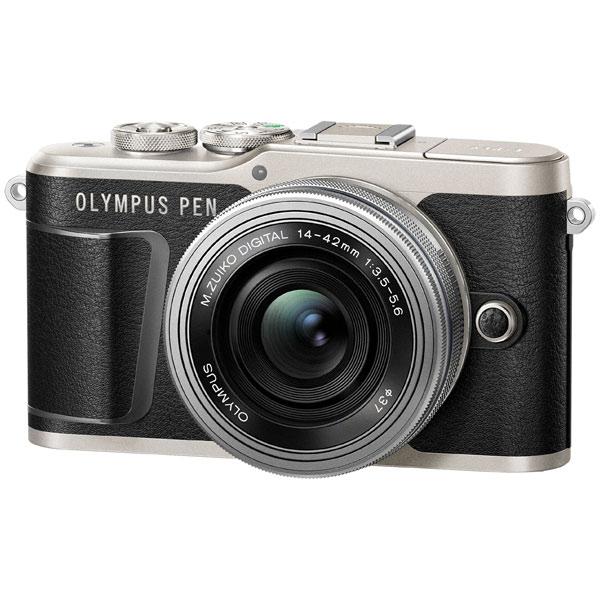 537bc463ce09 Фотоаппарат системный Olympus E-PL9 black + 14-42mm EZ silver ...