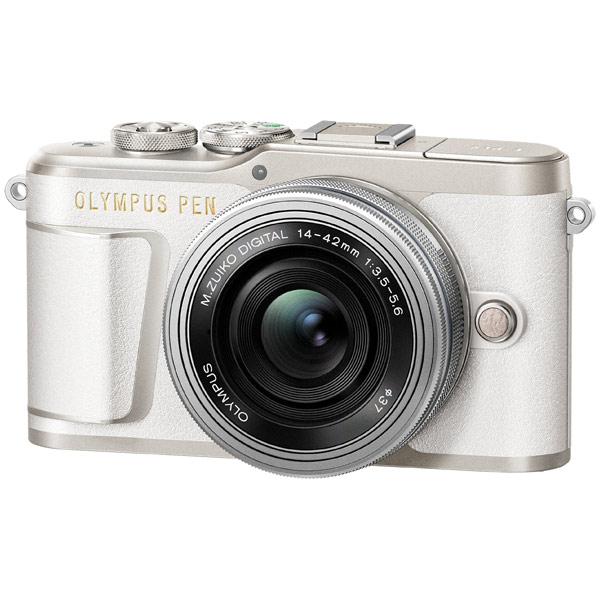 Фотоаппарат системный Olympus E-PL9 white + 14-42mm EZ silver