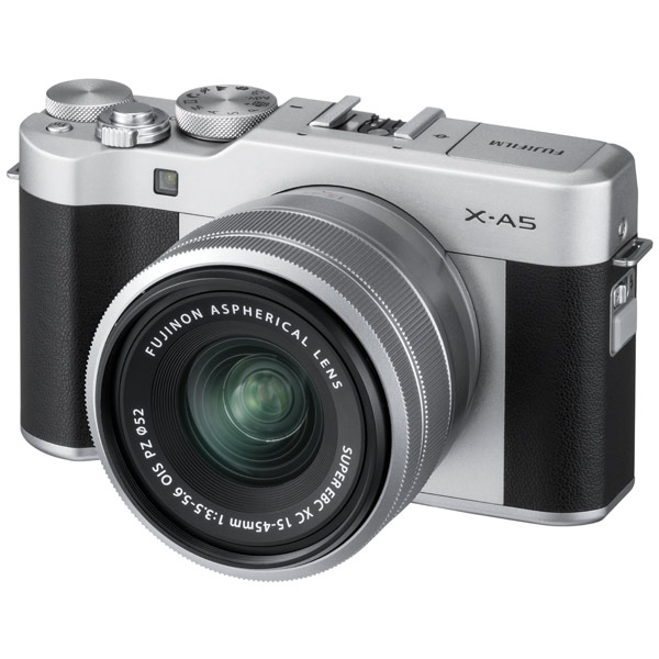 Фотоаппарат системный Fujifilm X-A5 Kit 15-45 F3.5-5.6 Silver фотоаппарат fujifilm x t1 body graphite silver edition