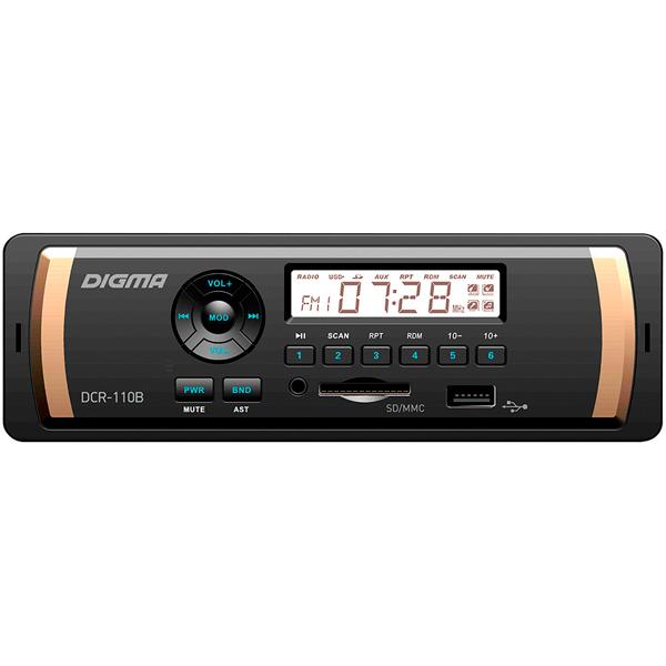 USB-Автомагнитола Digma DCR-110B