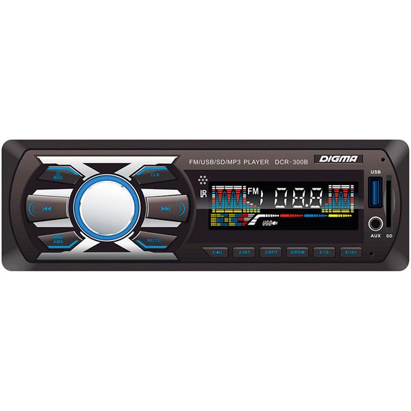 USB-Автомагнитола Digma DCR-300B usb автомагнитола digma dcr 300b