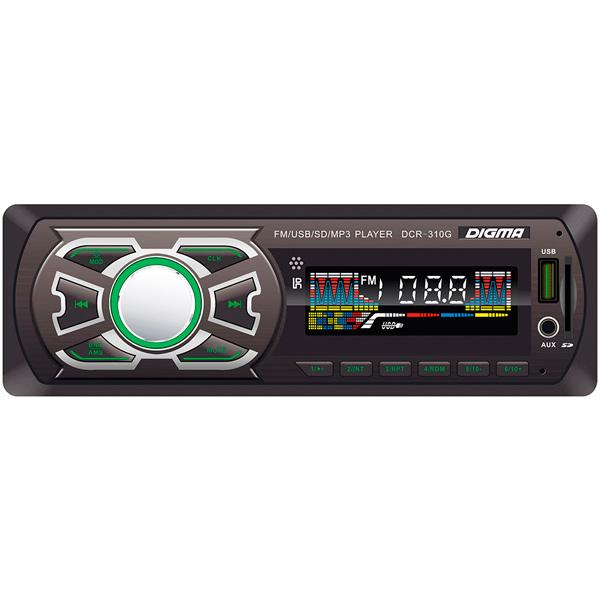 USB-Автомагнитола Digma DCR-310G автомагнитола digma dcr 310g
