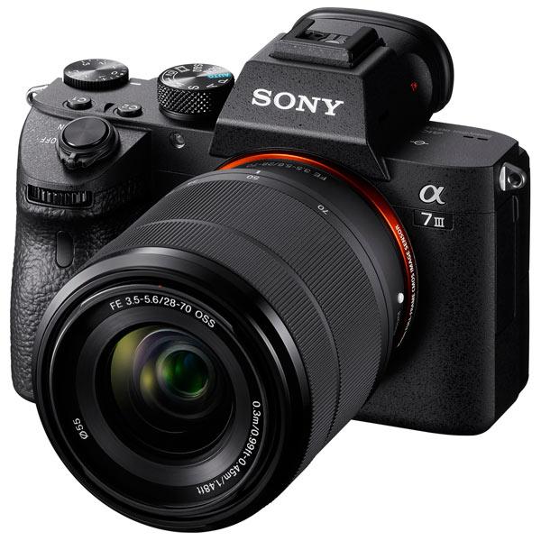 Фотоаппарат системный премиум Sony Alpha7 III + 28-70mm F3.5-5.6 OSS (ILCE-7M3K)