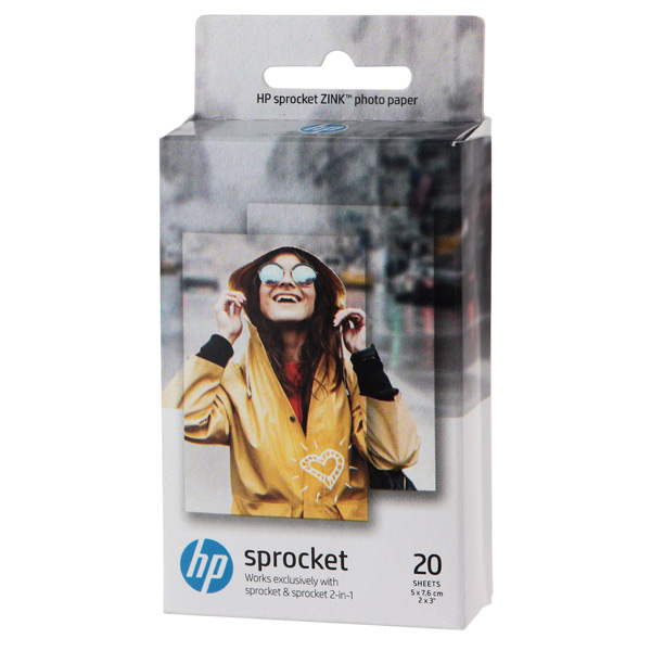 Бумага для компактного принтера HP ZINK Sticky-Backed Photo Paper (W4Z13A)