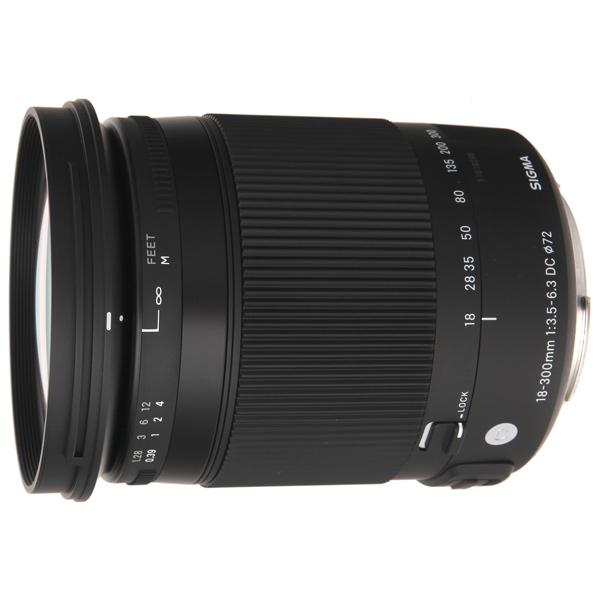 Объектив Sigma 18-300mm f/3.5-6.3 DC MACRO HSM C PENTAX купить sigma 18 200 мм для pentax