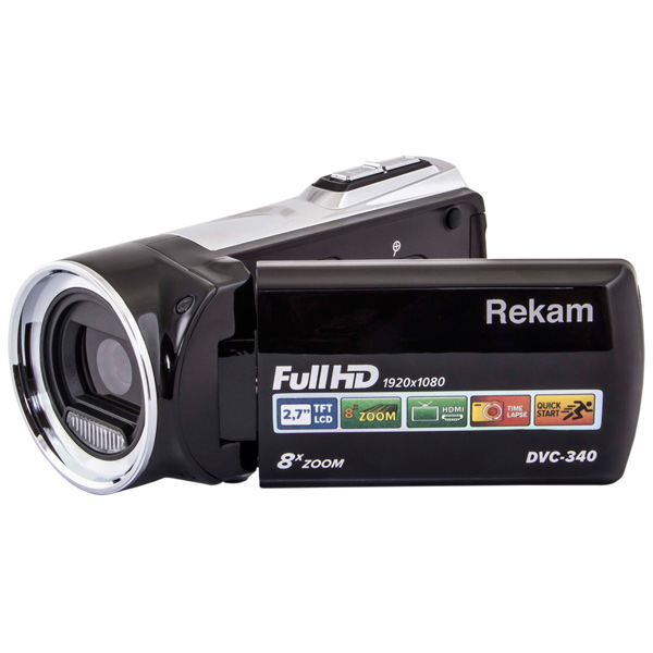 Видеокамера Full HD Rekam DVC-340