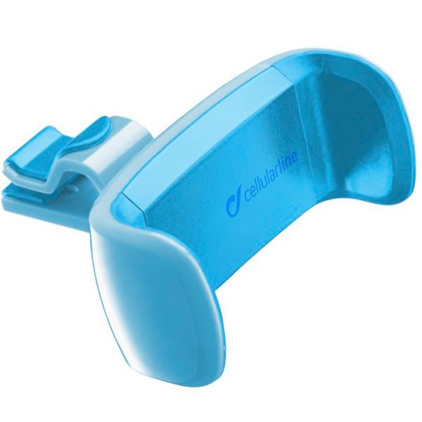 Автомобильный держатель Cellular Line HANDYSMARTB синего цвета