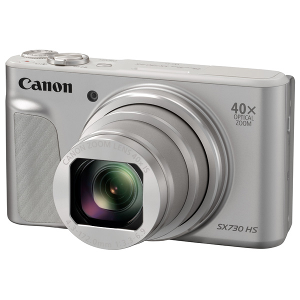 Фотоаппарат компактный Canon — PowerShot SX730 HS Silver