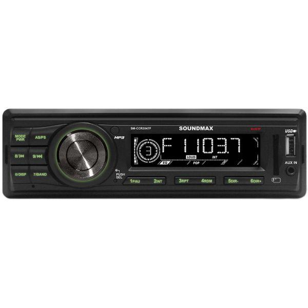 Soundmax SM-CCR3047F зеленого цвета
