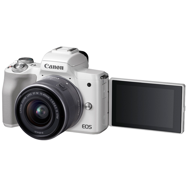Фотоаппарат системный Canon EOS M50 EF-M15-45 IS STM Kit White