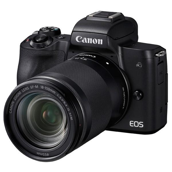 Фотоаппарат системный Canon EOS M50 EF-M18-150 IS STM Kit Black